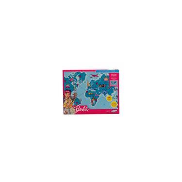 Imagem de Quebra-cabecas mapa-mundi travel barbie