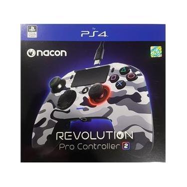 Controle Revolution Pro Nacon Revolution V2 Ps4 - Camuflado Cinza