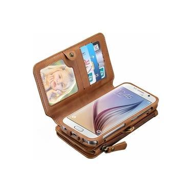 Capa Case Cover Flip Carteira Iphone 7 Plus 8 Plus Cartões