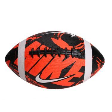 Bola Nike Futebol Americano Spin 3.0 - laranja/preto/branco