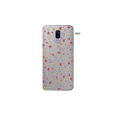 Capa Case Capinha Femininas Samsung Galaxy A8 SM A530 Jardim de Flores