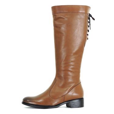 Bota Infinity Shoes Montaria Bagger Caramelo  feminino