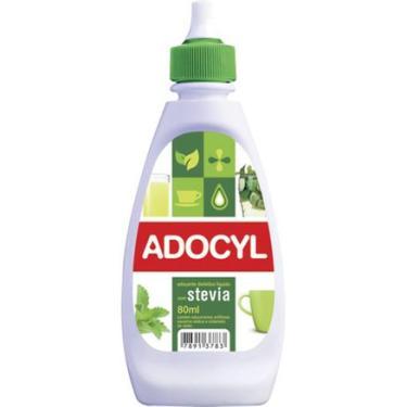 Adoçante Dietético Líquido Adocyl com Stevia 80ml HYPERMARCAS