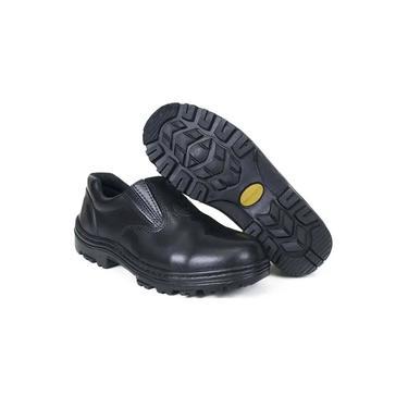 Sapato de Couro 150 Preto Terrafort'z