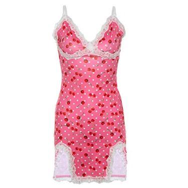 SOIMISS Vestidos de Alça de Renda Spaghetti Camisola Das Mulheres Profundo Decote Em V Lingerie Patchwork Bodycon Mini Vestido