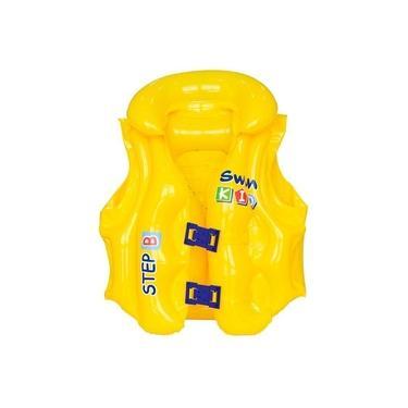 Colete Inflável Infantil Premium 001814 - Mor