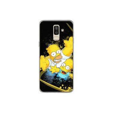 Capa para Galaxy J8 - Simpsons | Homer e Bart