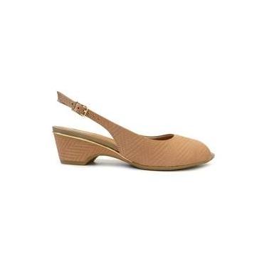 b4efdf69b Sandália Usaflex Shoptime | Moda e Acessórios | Comparar preço de ...