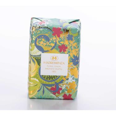 Sabonete Vegetal Floral Lemon Madressenza 180g