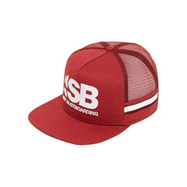 58e44ed8f0 Boné Nike Aba Reta Sb Cut Trucker Unissex - Cores(vermelho) Tamanho  Acessórios(