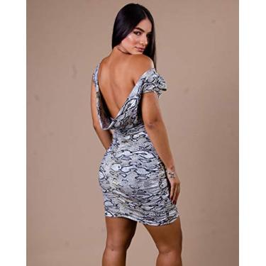 Vestido Miss Misses Tubinho Franzido EST COBRA