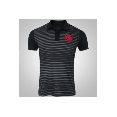 6ebebfa55578c Camisa Polo do Vasco da Gama Spike - Masculina - PRETO Xps Sports