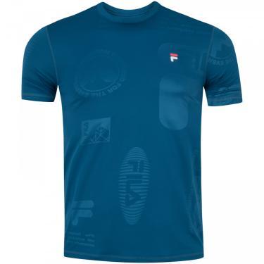Camiseta Fila Treknology Masc Fila Masculino