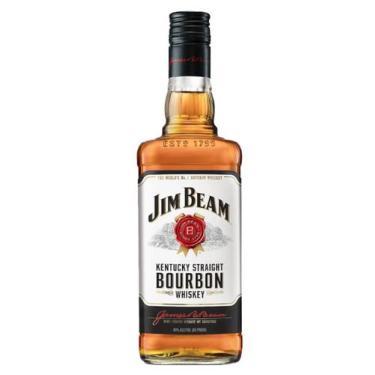 Whisky bourbon jim beam white 750ml