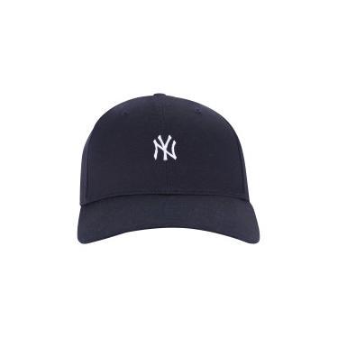 Boné Aba Curva New Era 3930 New York Yankees Core Lic - Fechado - Adulto - bebc6fb079f