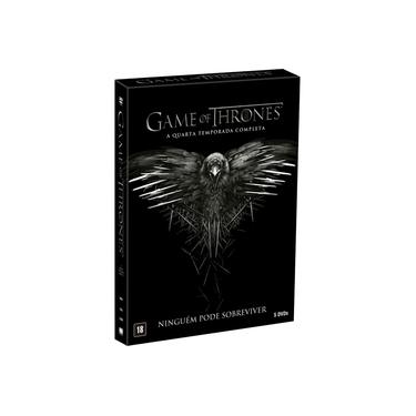 DVD Game Of Thrones - 4ª Temporada - 5 Discos