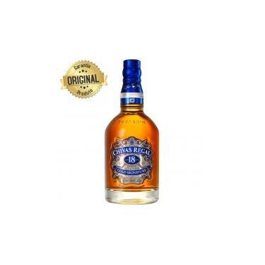 Whisky Escocês 18 Anos Garrafa 750ml - Chivas Regal