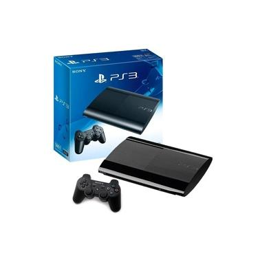 Playstation 3 Super Slim 500gb + 4 Jogos