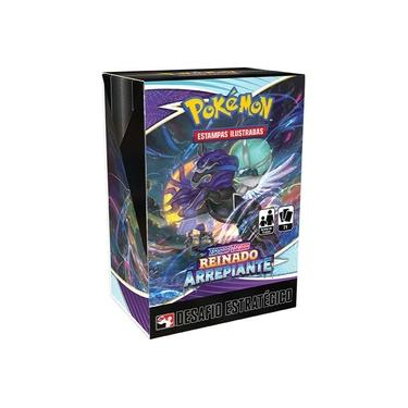 Imagem de Desafio Estratégico Pokémon Espada e Escudo 6 Reinado Arrepiante Copag Cartas Cards
