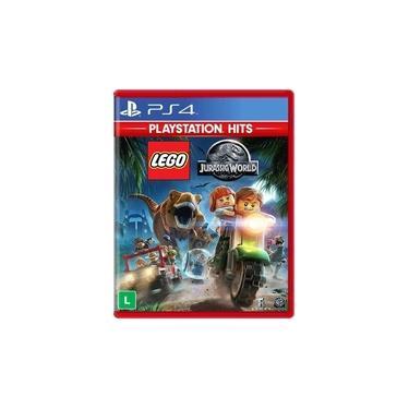Lego Jurassic World - Jogo PS4 (Dublado em Português) - Kit com 10 Unidades