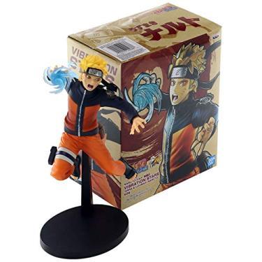 Boneco Naruto Shippuden Uzumaki Naruto Sage Mode Vibration Stars BANDAI BANPRESTO - SUIKA