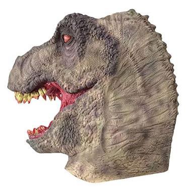 Imagem de Halloween Dinossauro Dia das Bruxas Brinquedos Engraçados e Trick Toys Carnaval Fantasia assustadora Acessório para Maquiagem Festa de Máscara