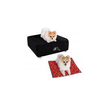 Caminha Box Pet + Colchonete Almofada Cachorro e Gato Courvin Bf