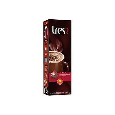 Cápsula de Chocolatto Quente Tres - 10 cápsulas
