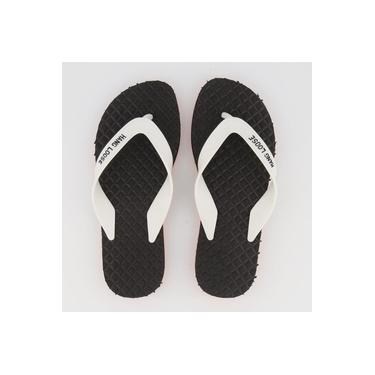 Chinelo Hang Loose Supra Deck Preto e Branco