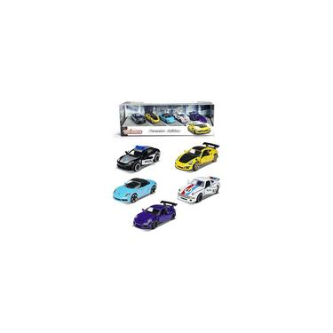 Imagem de Majorette 1:64 Porsche Edition 5-Pack Carros fundidos, brinquedos para crianças e adultos (212053171)