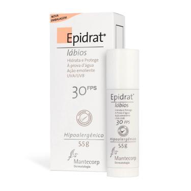 Imagem de Hidratante Labial Epidrat Lábios Mantecorp FPS 30 com 5,5g 5,5g