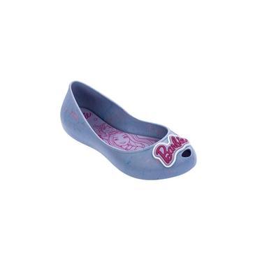 Sapatilha Barbie Mix Effect Menina 22544 Grendene - Azul Splash/violeta