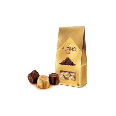 Bombom Alpino Chocolate ao Leite c/ 3 kit de195gr - Nestle