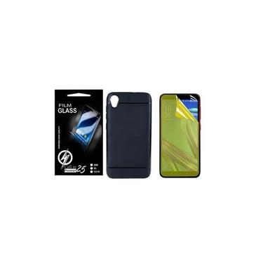Capa Emborrachada Asus Zenfone Live L1 ZA550KL 5.5 + 2 Película De Gel - CELL IN POWER 25