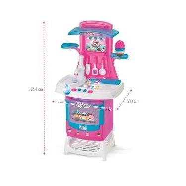 Imagem de Cozinha Eletrônica Infantil Cupcake C/ Acessórios Sai Agua- Magic Toys