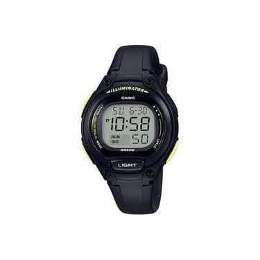 e58c0f55e38 Relógio Feminino Casio Digital Esportivo 50atm Lw-203-1bvdf