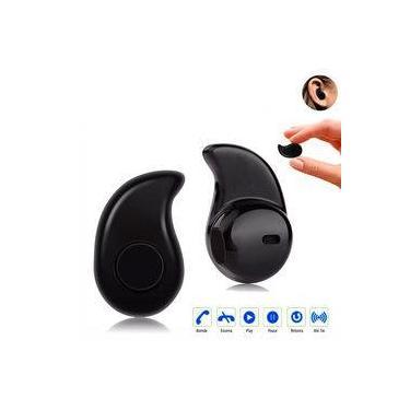 Fone Ouvido S530 Auricular Sem Fio Bluetooth 4.0 Mini Com Microfone Preto