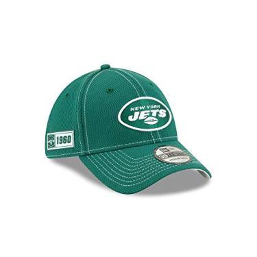 BONE 39THIRTY FECHADO NFL ON-FIELD COLECAO SIDELINE NEW YORK JETS ABA CURVA VERDE NEW ERA