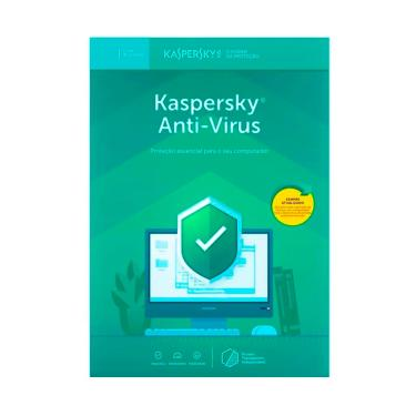 Kaspersky Antivírus - Licença de 1 Ano - para 5 PCs - Versão Download