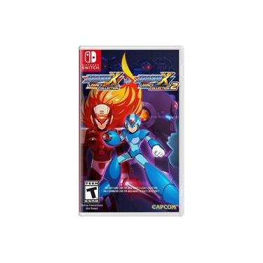 Jogo - Mega Man X Legacy Collection 1 + 2 - Switch