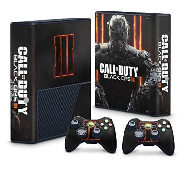 Skin Adesivo para Xbox 360 Super Slim - Call Of Duty: Black Ops 3