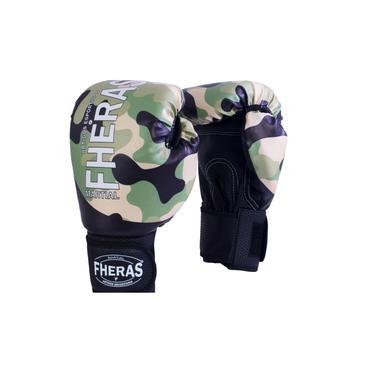 Kit Boxe Muay Thai Fheras Top Camuflado (03000292)