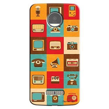 Capa Personalizada para Motorola Moto Z Aparelhos Antigos - VT09