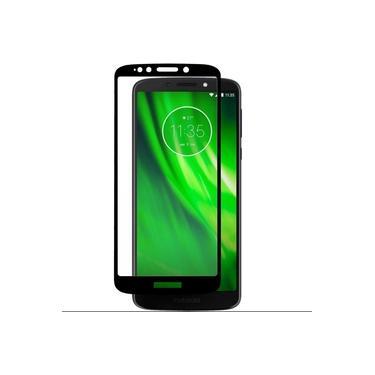 Película Protetora 3d 5d Vidro Hmaston Curvada Cobre A Tela Toda 100% Smartphone Celular Moto G6 Play