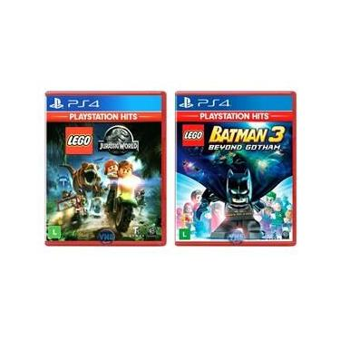 LEGO Jurassic World + LEGO Batman 3 Beyond Gotham - PS4
