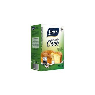 Mistura para Bolo Sabor Coco Zero Açúcar Linea 300g