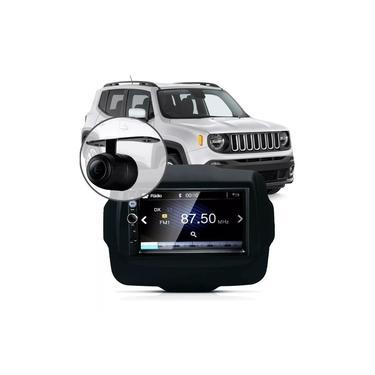 Central Multimídia Mp5 Jeep Renegade Pcd 2019 Câmera Espelha
