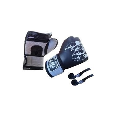 Imagem de Luva Muay Thai : The Fight 120Z + Bandagem +Protetor Bucal