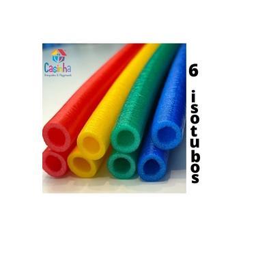 Imagem de Kit com 6 Isotubos Blindados Para Cama Elástica / Pula Pula