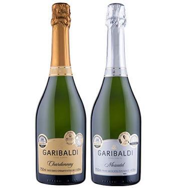 Kit Espumantes Garibaldi Masterchef - Moscatel + Brut Chardonnay